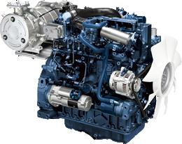 Motor Kubota serie 07