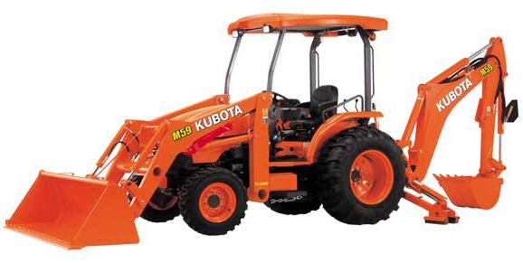 Tractor Kubota TLB-M59