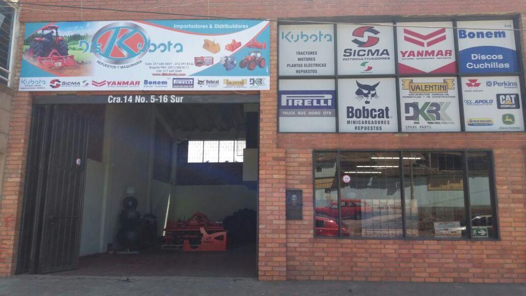 Kubota Tunja - Pirelli Tunja - Yanmar Tunja - Diskubota