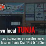 Nuevo local de Diskubota Tunja