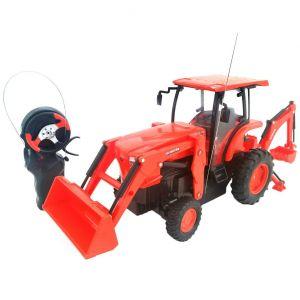 Tractor Kubota con retroexcavadora
