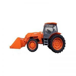 Tractor Kubota con pala delantera