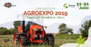 Diskubota estará presente en Agroexpo 2019 en Corferias