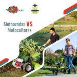 Todo lo que debes saber sobre motoazadas y motocultores