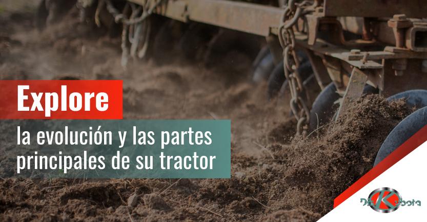 Conozca todo lo que debe saber sobre las partes del tractor